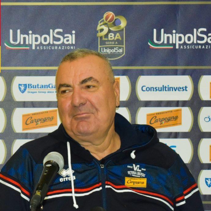 Coach Jasmin Repesa presenta #RomaPesaro
